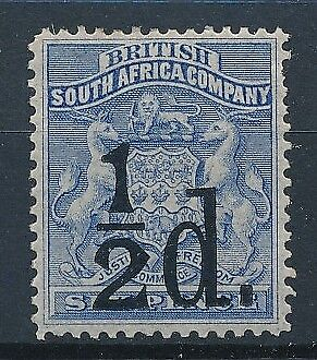[38721] South Africa Rhodesia 1891 Good stamp Very Fine MH Value $140