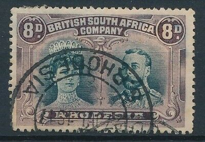 [38758] Rhodesia 1910 Good stamp Very Fine used Value $115