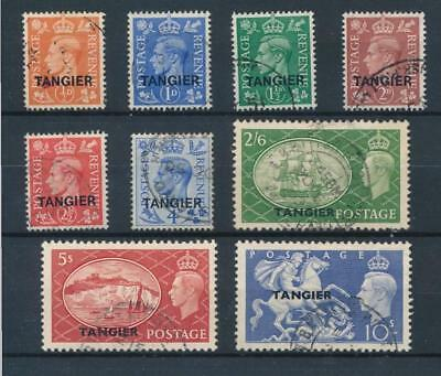 [38848] Morocco Tangier Good lot Very Fine used stamps