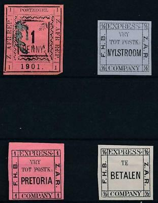 [39058] Transvaal Good lot old  stamps Very Fine MH/Mint No Gum