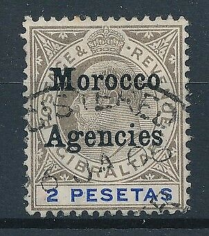 [39248] British Morocco 1905/6 Good stamp Very Fine used
