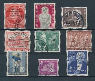 [39376] Germany Berlin 1954 Good lot Very Fine used stamps