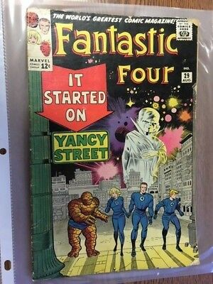 1964  FANTASTIC FOUR #29  Marvel Comics RED GHOST