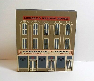 Cat's Meow Shrimplin And Jones Library Reading Series XI 93  Faline Shelf Sitter