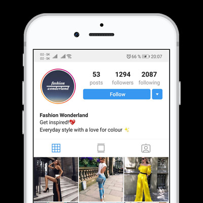 🦄Instagram Account 1,2K Active Real People |Fashion Niche| High Engagment🦄