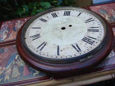 Vintage Clock Dial  For Fusee Clock For Restoration , Spare Or repair