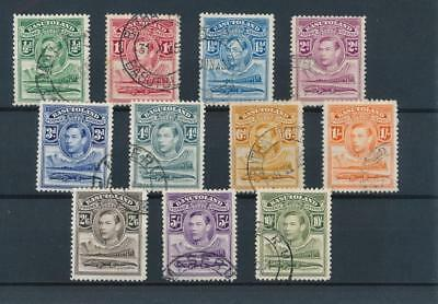 [50802] Basutoland 1938 good set Used Very Fine stamps $70