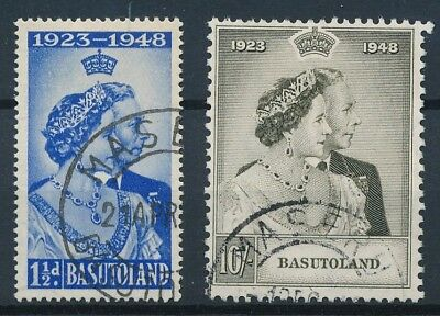 [50803] Basutoland 1948 good set Used Very Fine stamps $45