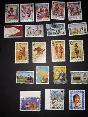 (T87)   Isle Of Man Selection Mnh Collect Or Postage