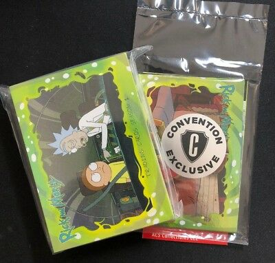 Cryptozoic Rick & Morty Season 1 45-Card Set + Sealed Convention Pack (ACS)