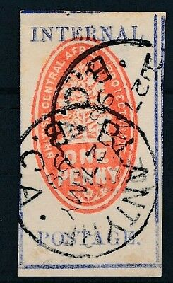 [50919] British central Africa 1898 good Used Very Fine stamp