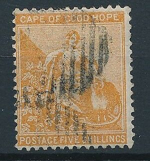 [51034] Cape of good Hope 1871-77 good Used Very Fine stamp