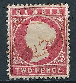 [51114] Gambia 1880 good Used Very Fine stamp