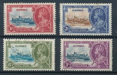 [51184] Gambia 1935 good set Used Very Fine stamps