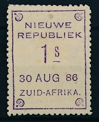 [51577] South Africa New Rep. 1886 good Mint no gum Very Fine stamp