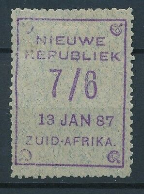 [51598] South Africa New Rep. 1886 Very good Mint no gum Very Fine stamp