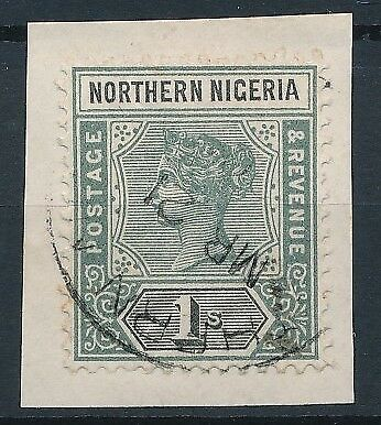 [51677] Nothern Nigeria 1900 good Used Very Fine stamp $65