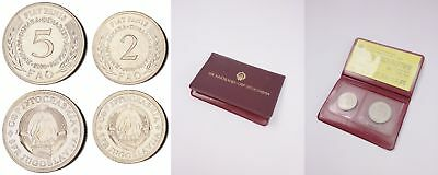 auk-XJ.040) YUGOSLAVIA 1970 FAO coins set / in plastic holder with certificate