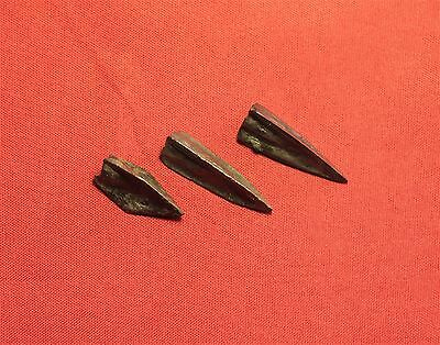Lot of 3 Ancient Roman Arrowhead