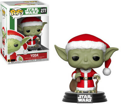 Holiday - Santa Yoda - Funko Pop! Star Wars: (2018, Toy NEUF)