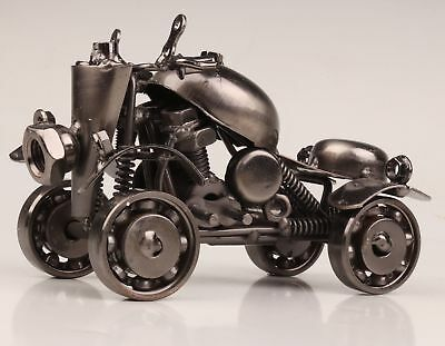 Christmas Retro Iron Art Hand-Made Beach Motorcycle Model Creative Decoration