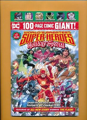 Worlds Greatest Super-Heroes Holiday Special #1 NM DC 100 Page Giant Walmart