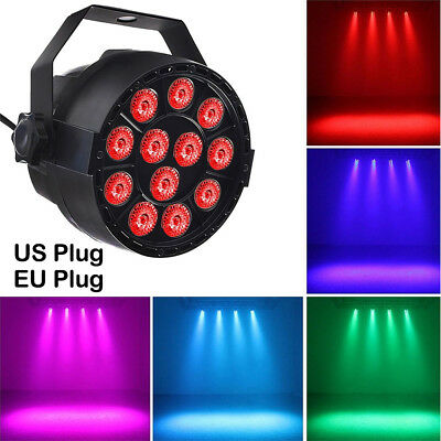 12 LED RGB 3IN1 18W Stage Lighting DMX 512 Projector Disco Party Club DJ Light
