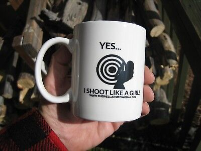 I Shoot Like A Girl Coffee Cup Great Gift For The Lady Your Taking To The Range.
