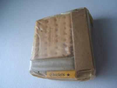 Vintage Ww2 Us Army Food Ration Unopened Crackers-Chicklets Gum-Bouillon & More
