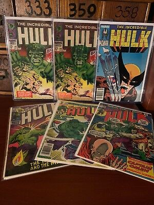(1962 SERIES) MARVEL THE INCREDIBLE HULK #102 1ST ISSUE X2 340 6 Issue Key Lot