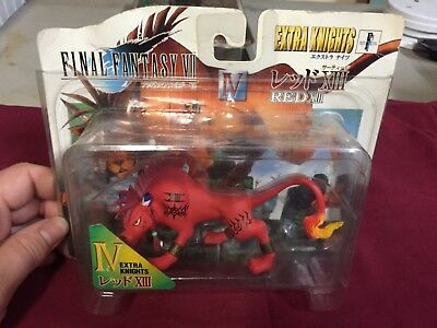 Final Fantasy VII Red XIII Bandai Extra Knights Figure Rare Video Game Toy