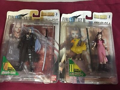 1997 Bandai Final Fantasy VII 7 Aerith Extra Knights + Legendary Soldier Figures