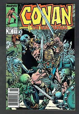 Conan the Barbarian #200 Marvel Comics Copper Age 1987 VF Robert E. Howard