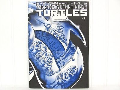 1985 No. 2 FIRST 1st Print Teenage Mutant Ninja Turtles EASTMAN and LAIRD Nice!