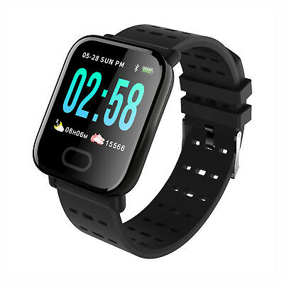 Waterproof Bluetooth Smart Watch Heart Rate Monitor Fitness Tracker Wristband