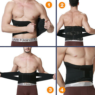 Lumbar Support High Elastic Breathable Mesh Health Care With Steel Waist Support