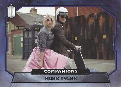 COMPANIONS C-1 Rose Tyler / Billie Piper 10th Foil Chase Doctor Who 2015 Topps
