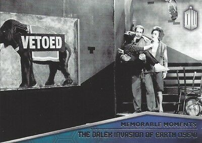 Memorable Moments MM-2 Dalek Invasion of Earth Foil Chase Doctor Who 2015 Topps