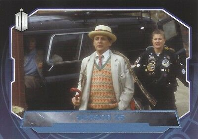 Parallel Base Card Blue 190 #070/199 Season 25 7th Seventh Doctor Who 2015 Topps
