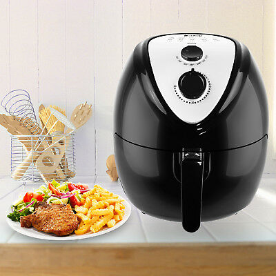 6.5L 1800W Power AirFryer Grill Temperature Kitchen Mechanical Oiless Mechanical