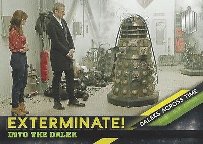 Daleks Across Time 9 of 10 Exterminate Into the Dalek Doctor Who Timeless Topps