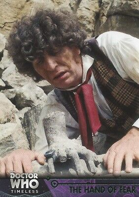 GREEN Parallel 24 The Hand of Fear Fourth Doctor Who Timeless 2016 Topps Baker