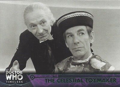 GREEN Parallel 3 Celestial Toymaker 1st First Doctor Who Timeless 2016 Topps