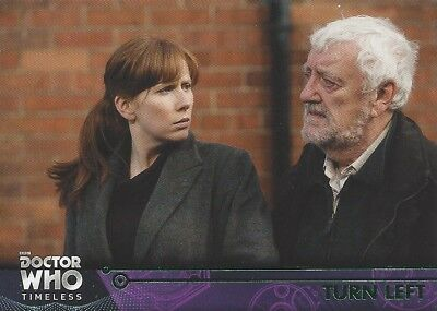 GREEN Parallel 65 Turn Left Donna Noble 10th Doctor Who Timeless 2016 Topps