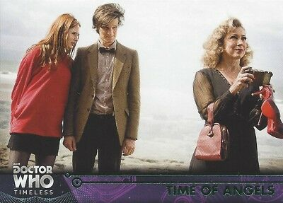 GREEN Parallel 72 Time of Angels River Song 11th Doctor Who Timeless 2016 Topps