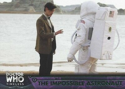 GREEN Parallel 77 Impossible Astronaut 11th Doctor Who Timeless 2016 Topps