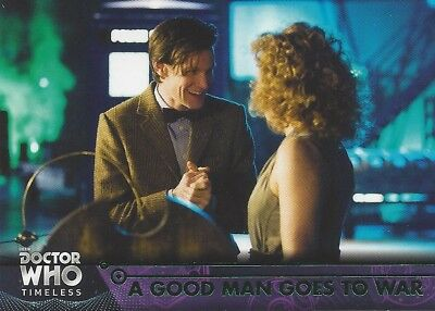 GREEN Parallel 79 A Good Man Goes to War 11th Doctor Who Timeless 2016 Topps
