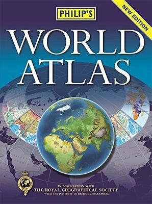 Philip's World Atlas New Paperback Book
