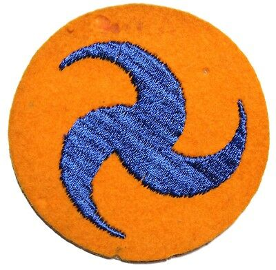 Original US 1930s - WWII AAC Army Air Corps Patch On Wool