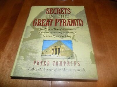 SECRETS OF GREAT PYRAMID  Ancient Egypt Egyptians Pyramids Tombs Mystery Book